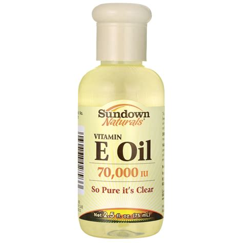 Produk Istimewa Sundown Naturals Vitamin E Vitamin E 75 Ml sundown naturals vitamin e 70 000 iu 2 5 fl oz liquid