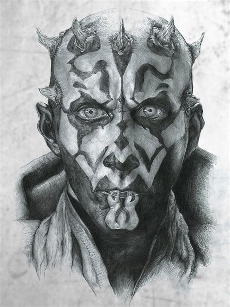 darth maul by kalkri on deviantart