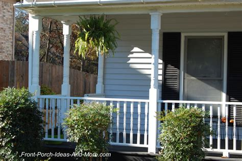 how to fix a sinking front porch replace a porch column the easy way