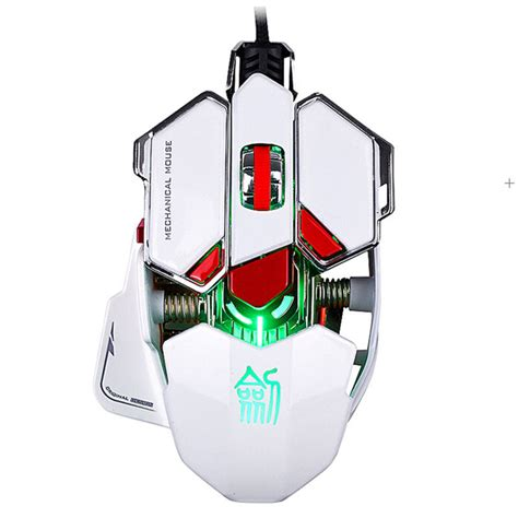 Mouse Ghost Shark Aokdis Led Optical Wired Gaming Mouse 3200 Dpi Js ghost shark aokdis led optical wired gaming mouse 3200 dpi