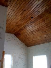 find wood ceiling 101 how to install tongue