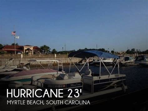 deck boats for sale myrtle beach sc sold hurricane fun deck 236 boat in myrtle beach sc 081667