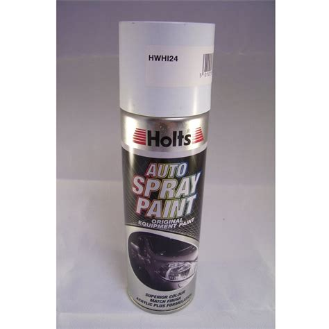 paint match hwhi24 holts paint match pro aerosol ford frozen white