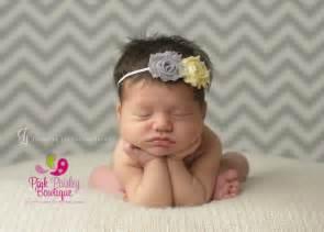 baby headbands uk baby headband baby headbands yellow grey shabby