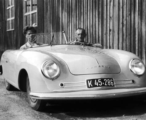 first porsche ever made photos of porsche no 1 the first ever built 356 roadster