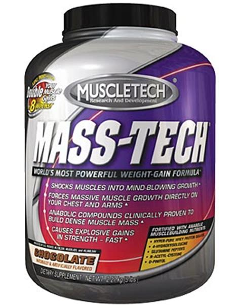 Suplemen Mass Tech Muscletech Mass Tech Jual Suplemen Gainer Mass Tech