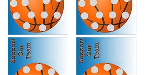 Fundraising Scratch Card Template by Easyscratchoffs Basketball Fundraiser Scratch And Win