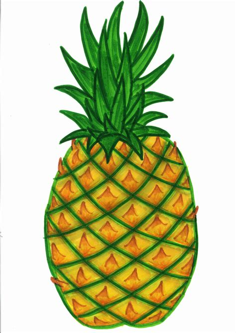 clipart of pineapple clipart best clipart best - Clipart Pineapple