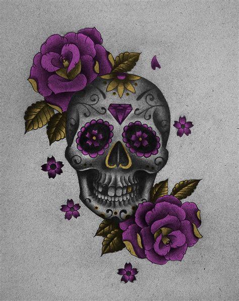 pinterest tattoo skull mexican mexican sugar skulls mexican skull vi by frah art day