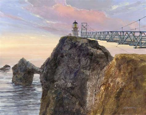 point bonita light house point bonita lighthouse prints by artist roger bansemer