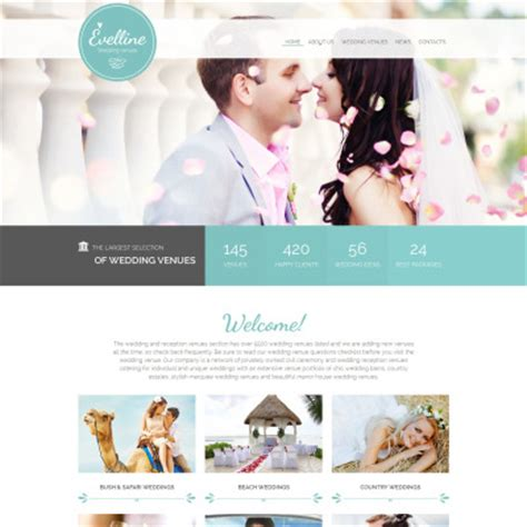 Wedding Websites Free by Wedding Website Templates