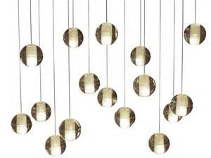 floating chandelier 16 light rectangular floating glass globe led
