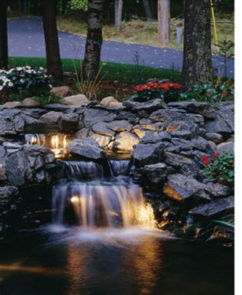 Backyard Pond With Waterfall by Koi Pond Pictures