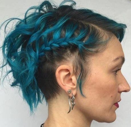 peinados para pelo corto con trenzas trenzas para pelo corto