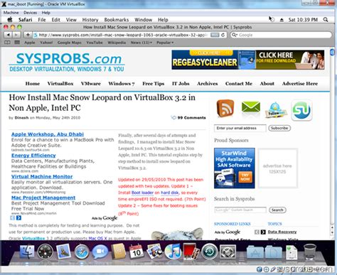 Usb Installer Mac Os X 107 Retail Update 1075 For Mac how to use iboot loader with virtualbox to install snow leopard