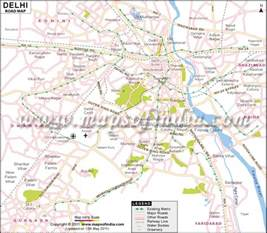 map roads gb road delhi map images