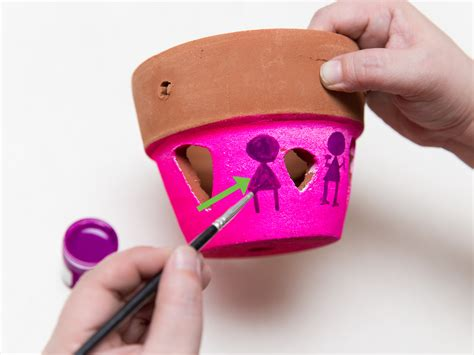 how to paint a terracotta pot 12 steps with pictures