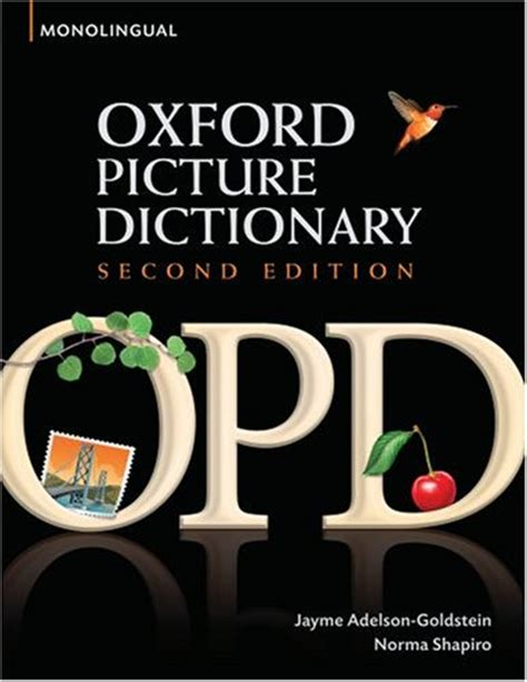 oxford picture dictionary monolingual english oxford picture dictionary english no more worries