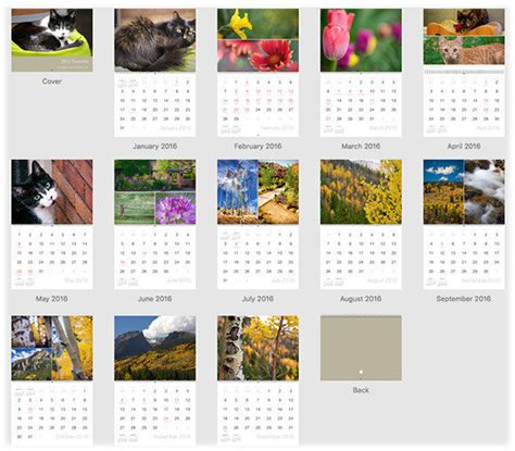 design custom calendar how to create a custom calendar in photos for mac macworld