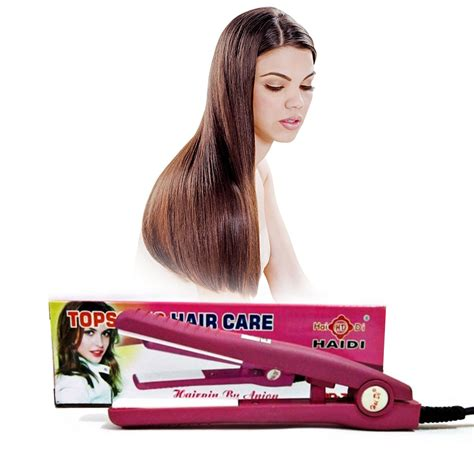 Topsonic Hair Carecatok Mini Haidi topsonic haidi mini nano ion hair curler straightener for everyday use elevenia