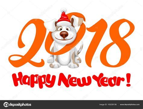 new year symbols 2018 happy symbol of 2018 year stock vector 169 pazhyna