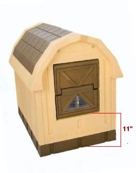 insulated dog house with heater large insulated heated air conditioned dog houses free ship no tax