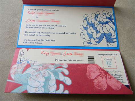 www wedding invitations 2 diy boarding pass wedding invitations part one pocket fold of kle