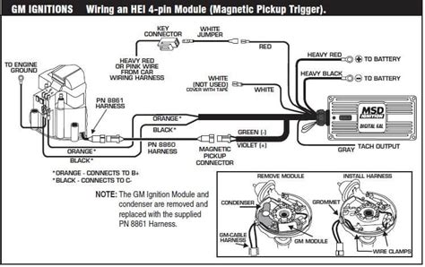msd pn 6425 wiring diagram wiring diagrams