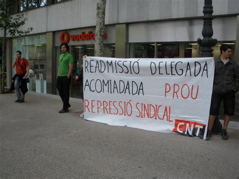 Sede Centrale Vodafone by Secci 243 N Sindical Cnt Internity Concentraci 243 N Ante La Sede