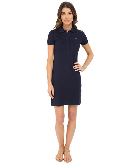 Dress Polo Polos Aic lacoste sleeve pique polo dress at zappos