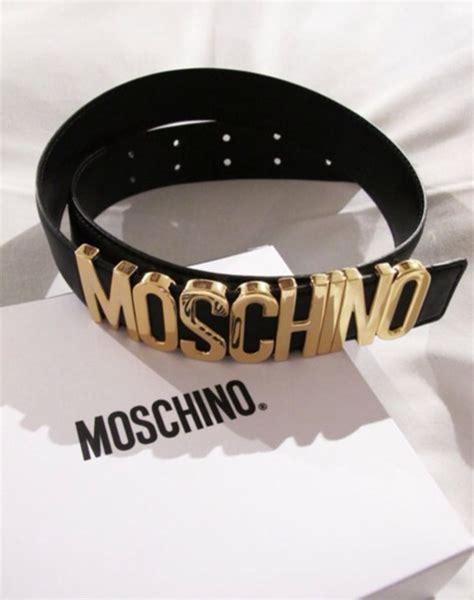 Moschino Belt belt moschino store