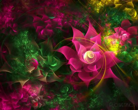 Flower Wallpaper Effect | flower effect wallpapers hd wallpapers 15297