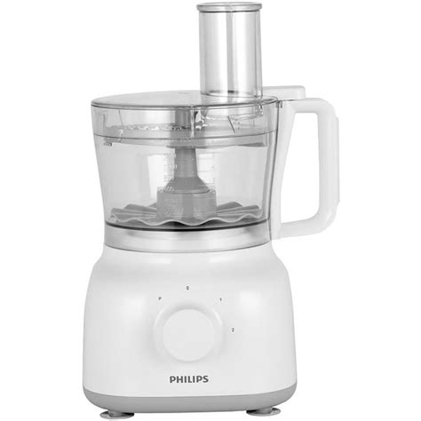 Philips Food Processor Hr7627 Limited philips daily collection hr7627 01 food processor in white grey small appliances