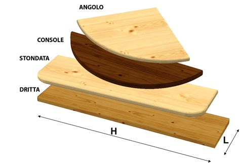 mensole legno su misura mensola abete su misura