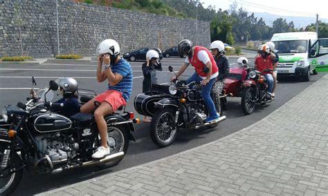 Motorrad Mit Beiwagen Helmpflicht by Sidecar Touren Madeira