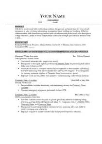 Proper Resume Template Help Writing Job Resume