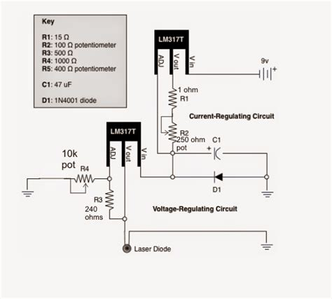 laser diodes schematic laser diode driver circuit current controlled circuit diagram centre