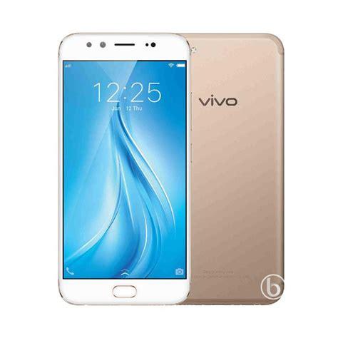Hp Vivo Y35 Gold jual vivo v5 plus smartphone gold 64gb 4gb harga kualitas terjamin blibli