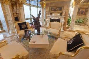 Trump Gold Apartment trump s most famous home is his three story penthouse high atop the