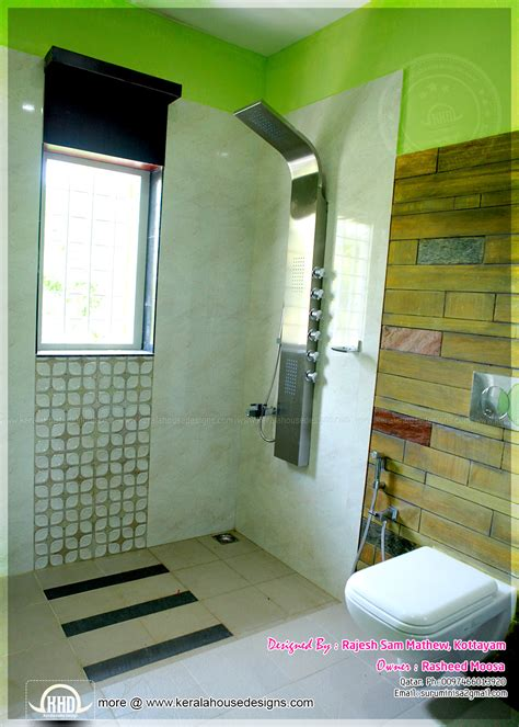 kerala home bathroom designs and bathroom interior designs
