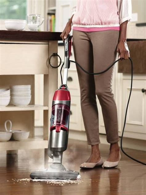 bissell symphony    vacuum  steam mop