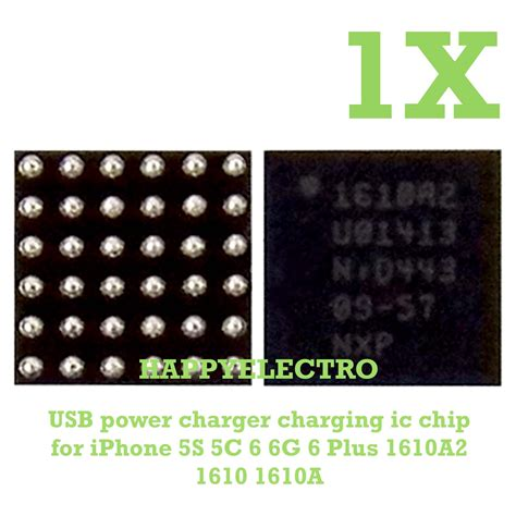 Ic Charger Iphone 6 usb power charger charging ic 1610a2 u2 bga chip for