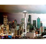 Seattle Skyline Washington Wallpapers  HD
