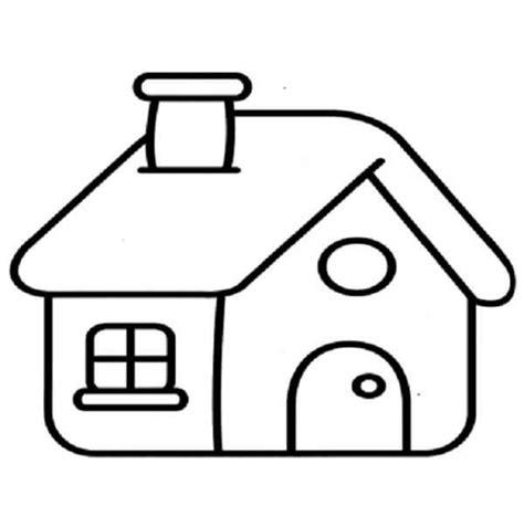 imagenes de casas lindas para dibujar dibujos para colorear de casas