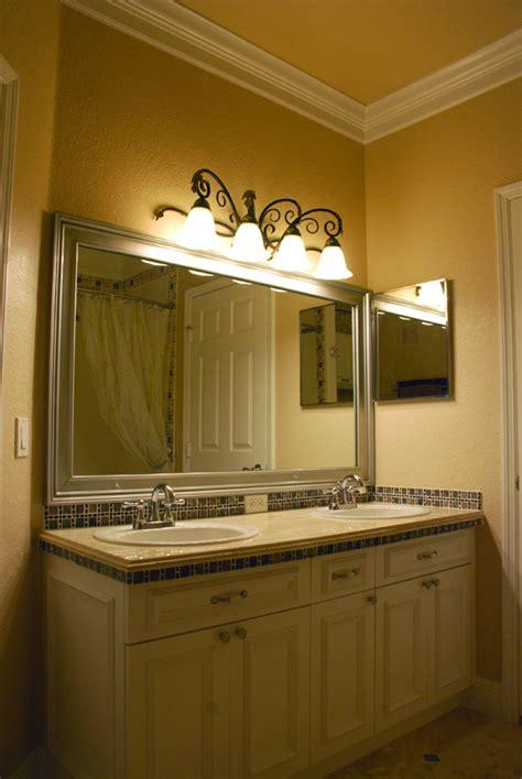 molding around mirror bathroom baths creative rr