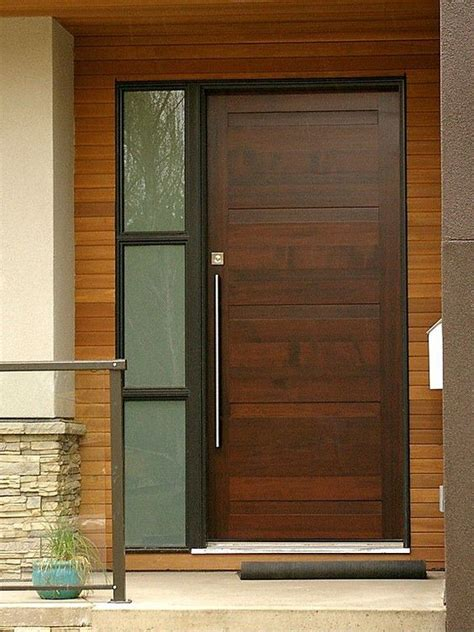 Contemporary Front Doors Front Doors And Doors On Pinterest Front Door Modern Design