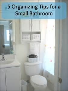 you have small bathroom know that your space really master organization