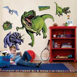 Large Dinosaur Wall Stickers Cheap Dinosaurs Giant Wall Decals At Go4costumes Com