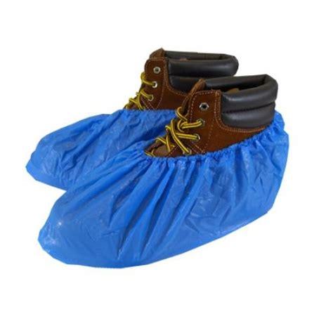 light blue waterproof shoe boot covers shoecoversupply