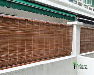 Porch Shades Blinds Outdoor Bamboo Blinds Singapore Balconyblinds
